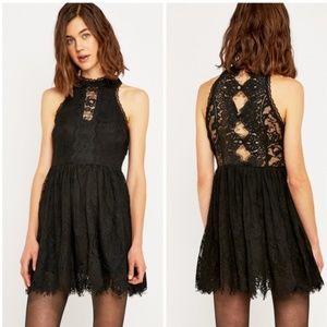 Host Pick⭐️ Free People Verushka Black Lace Dress